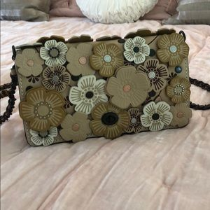 "Coach ""Dinky"" Tea Rose bag"